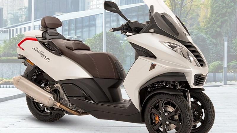 Mahindra ostentaba más de 50% de la propiedad de Peugeot Motocycles desde hace varios años