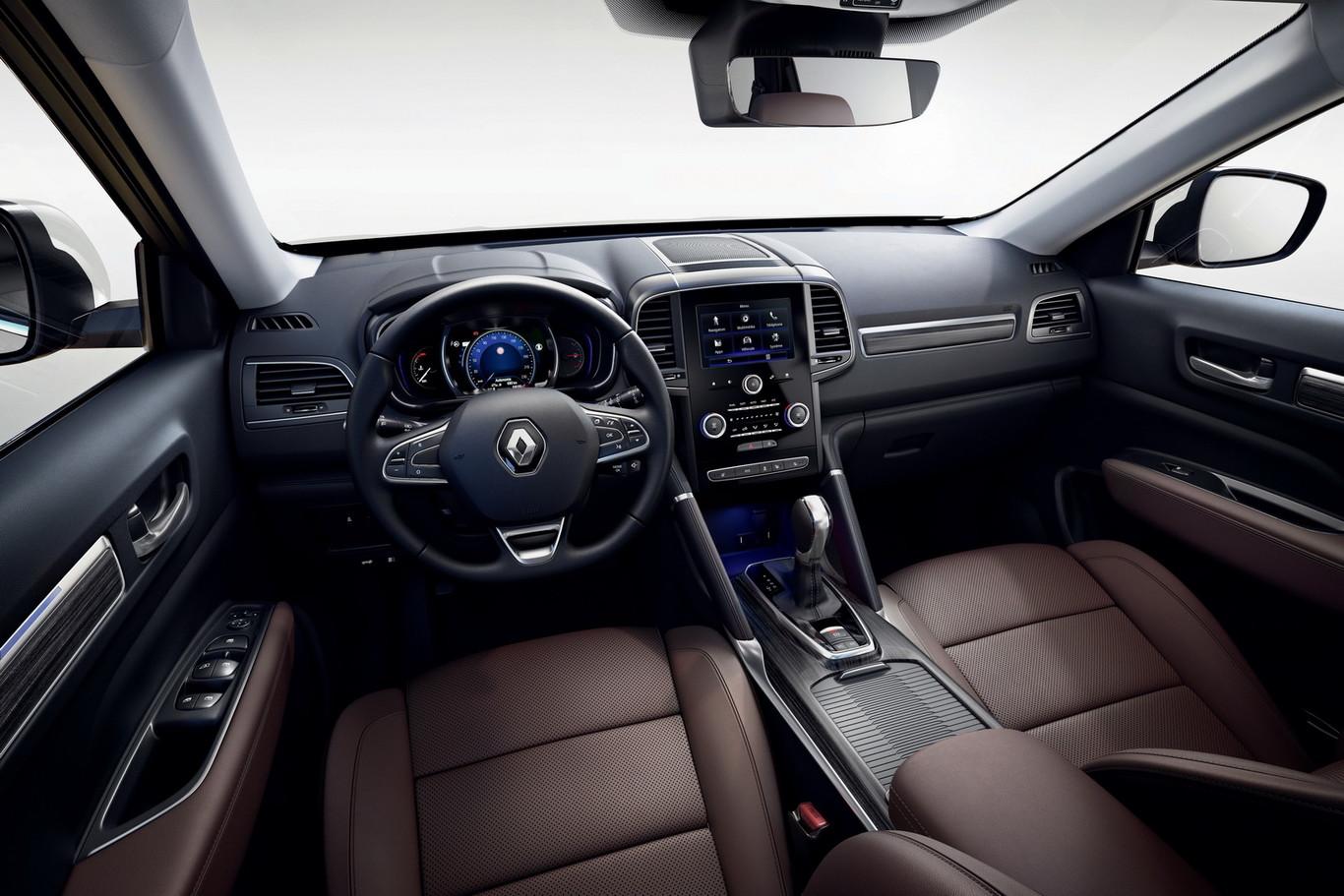 La Renault Koleos 2020 precio en México tiene mejoras importantes al interior