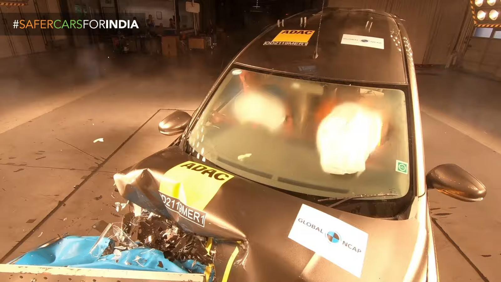 La Suzuki Ertiga quedó a deber en las pruebas del programa Global NCAP