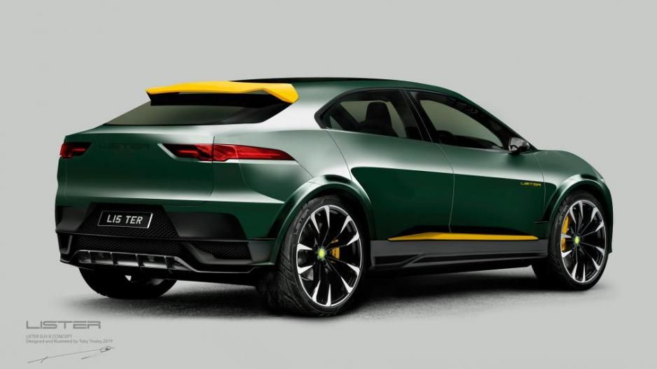 La Lister SUV-E Concept ofrecería mayor potencia tras actualizarse vía software