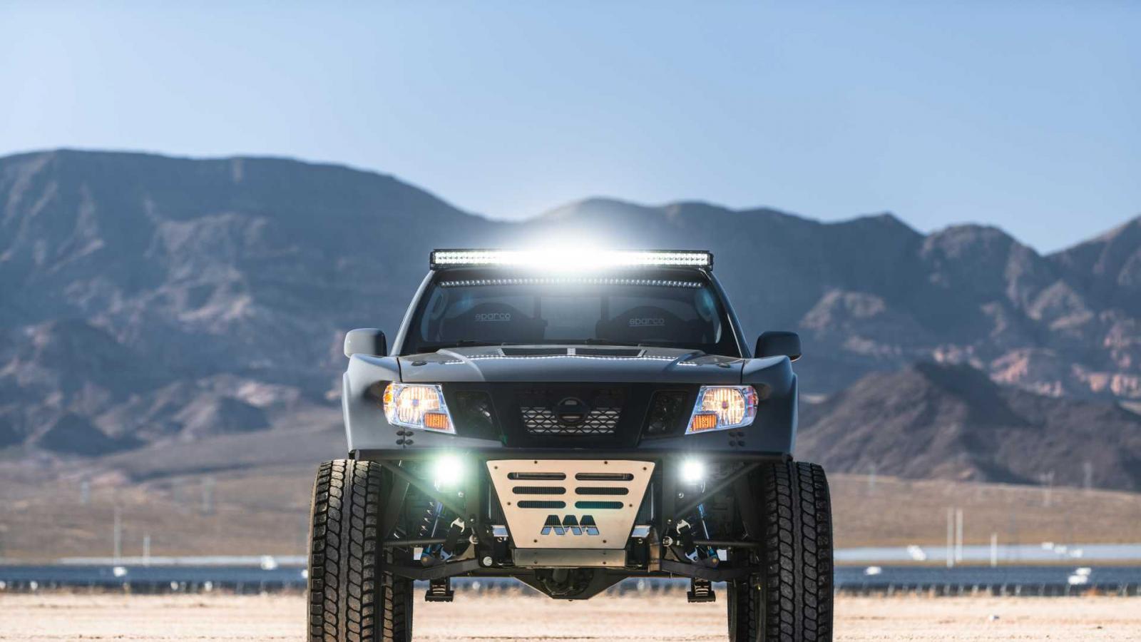 La Nissan Frontier Desert Runner estrena kit de suspensión