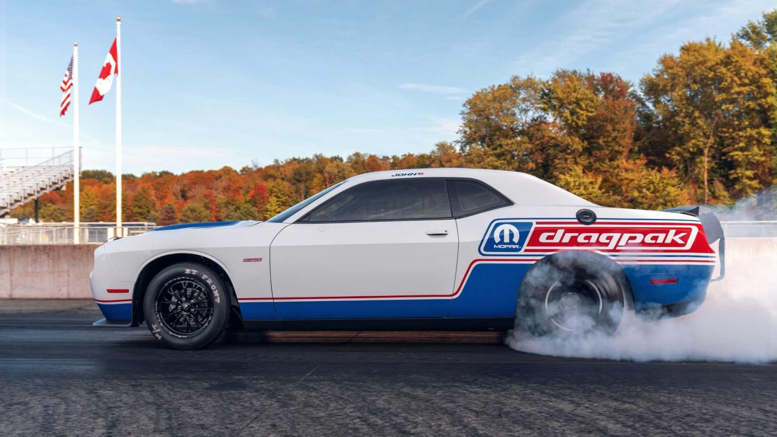 El Dodge Challenger Drag Pak 2020 podría ofrecer un mejor desempeño que el SRT Demon
