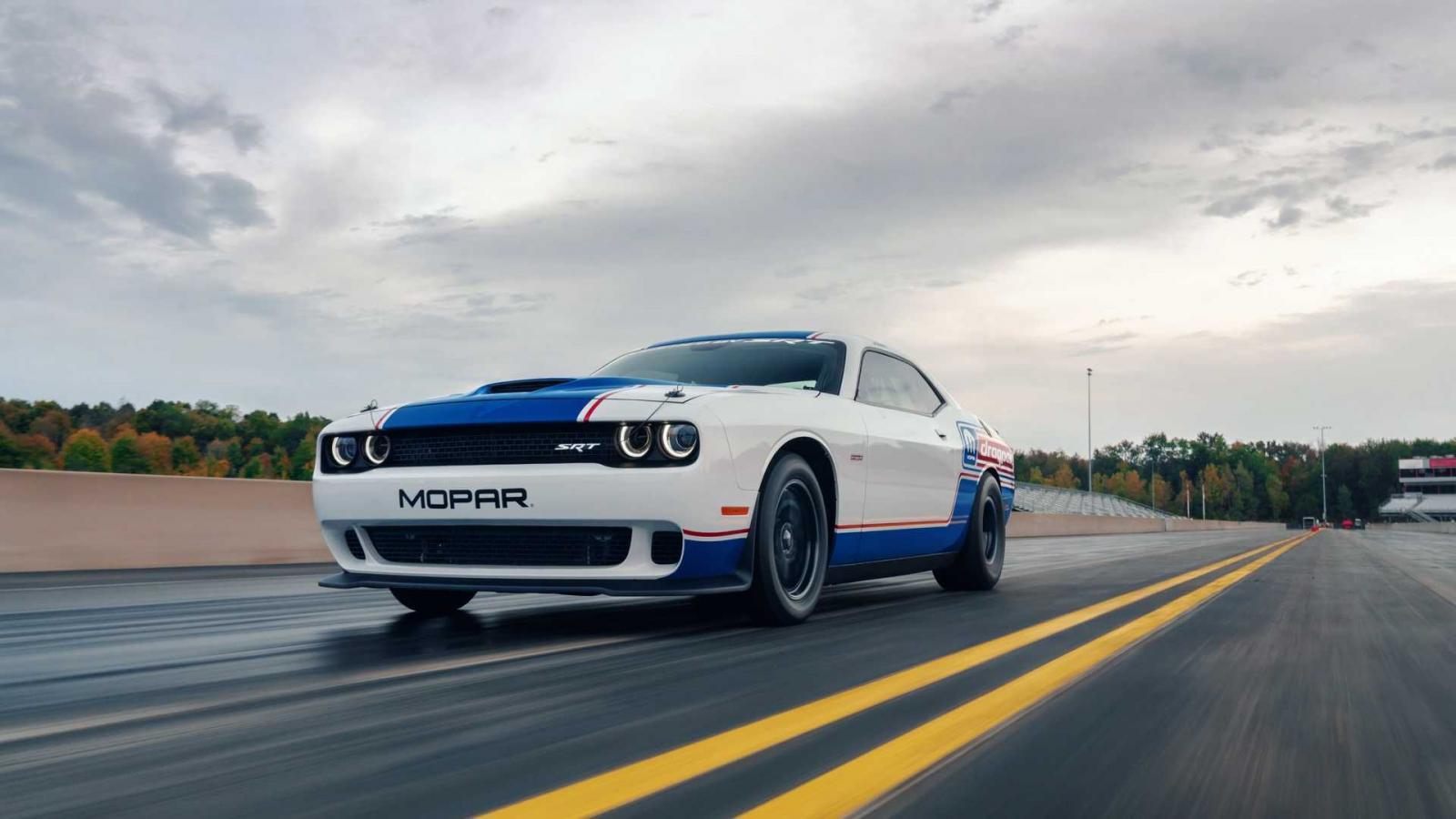 El Dodge Challenger Drag Pak 2020 es una creación de Mopar y Dodge SRT