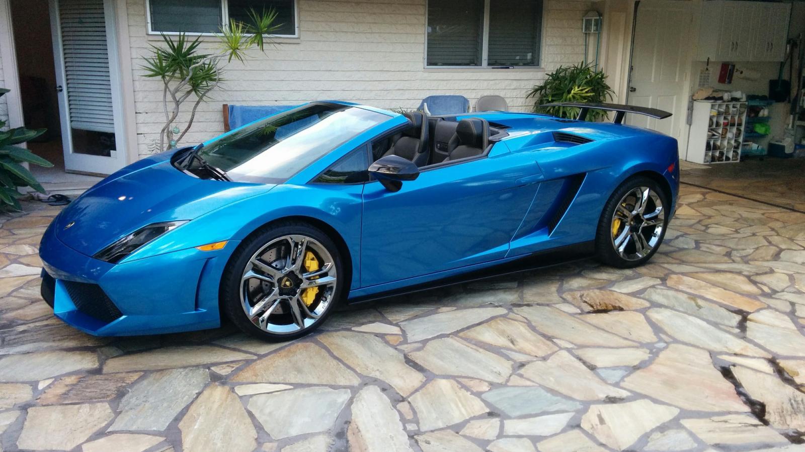Instalacion de vinil para autos Lamborghini Gallardo