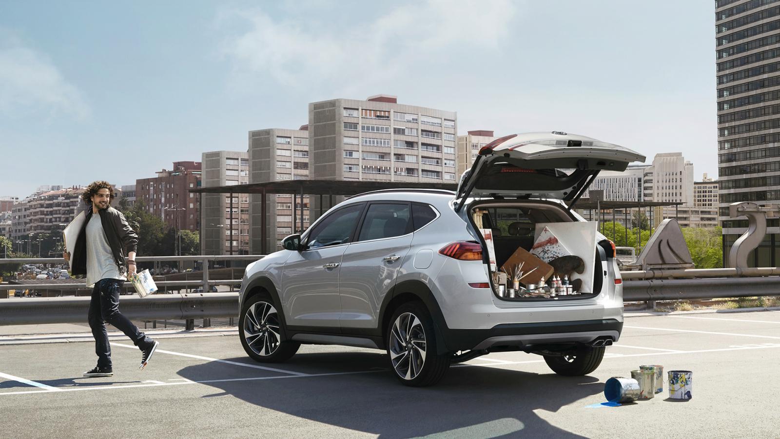 La Hyundai Tucson 2020 precio en México es una camioneta práctica y funcional para el día a día
