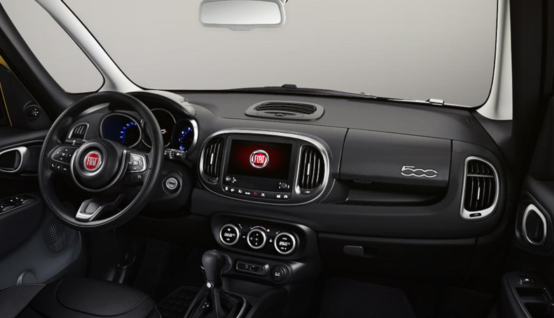 El FIAT 500L Trekking 2019 podría mejorar la calidad de los materiales en cabina