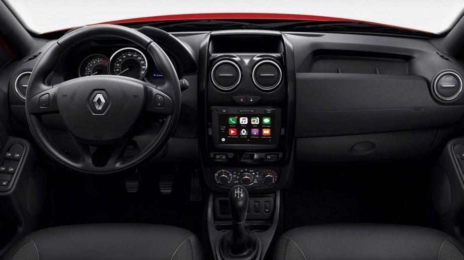 La Renault Duster 2020 precio en México solo tiene una pantalla táctil en la versión más equipada