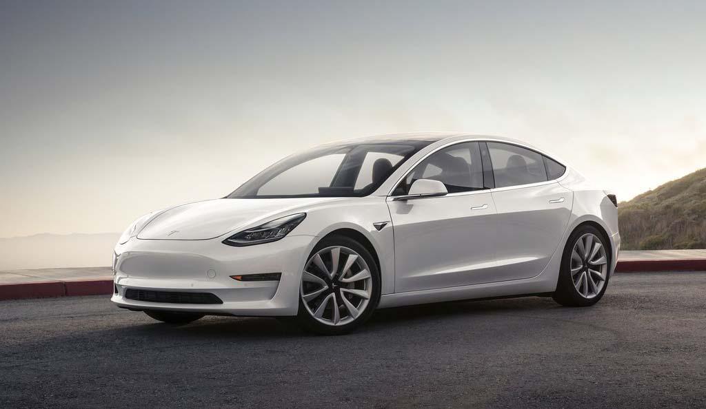 El Tesla Model 3 es uno de los modelos más eficientes