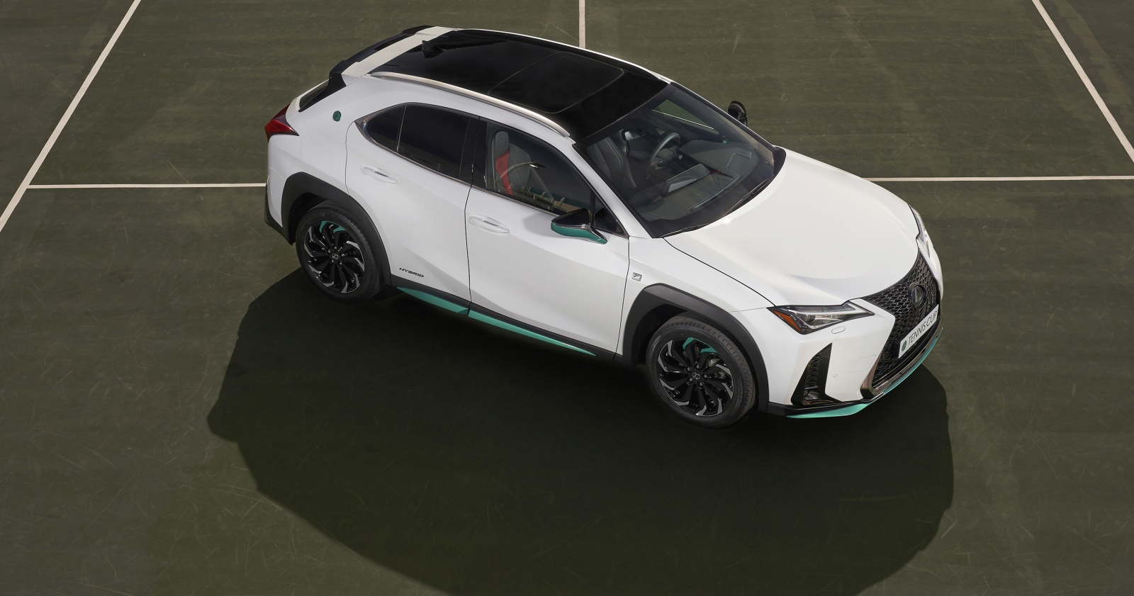 La mecánica de la Lexus UX 250h Tennis Cup Edition no presenta modificaciones en comparación con las otras versiones