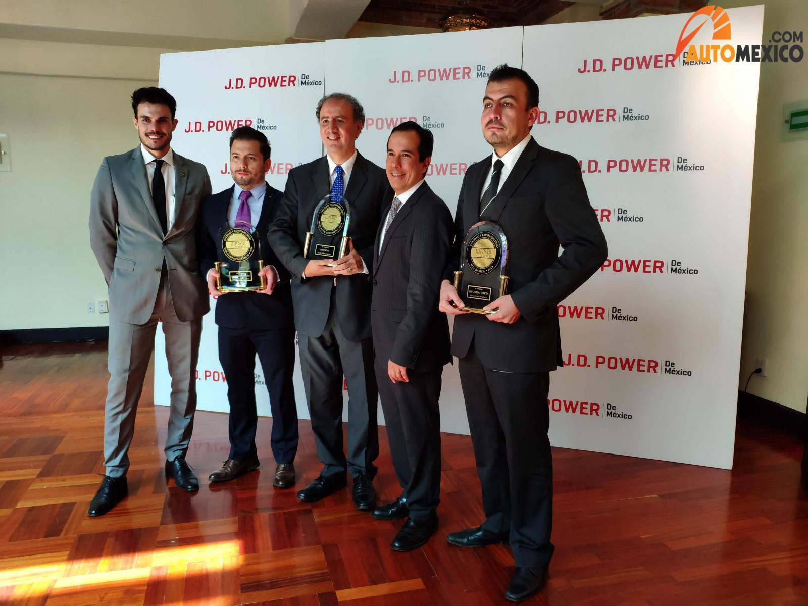 Hyundai reconocimientos VDS J.D. Power