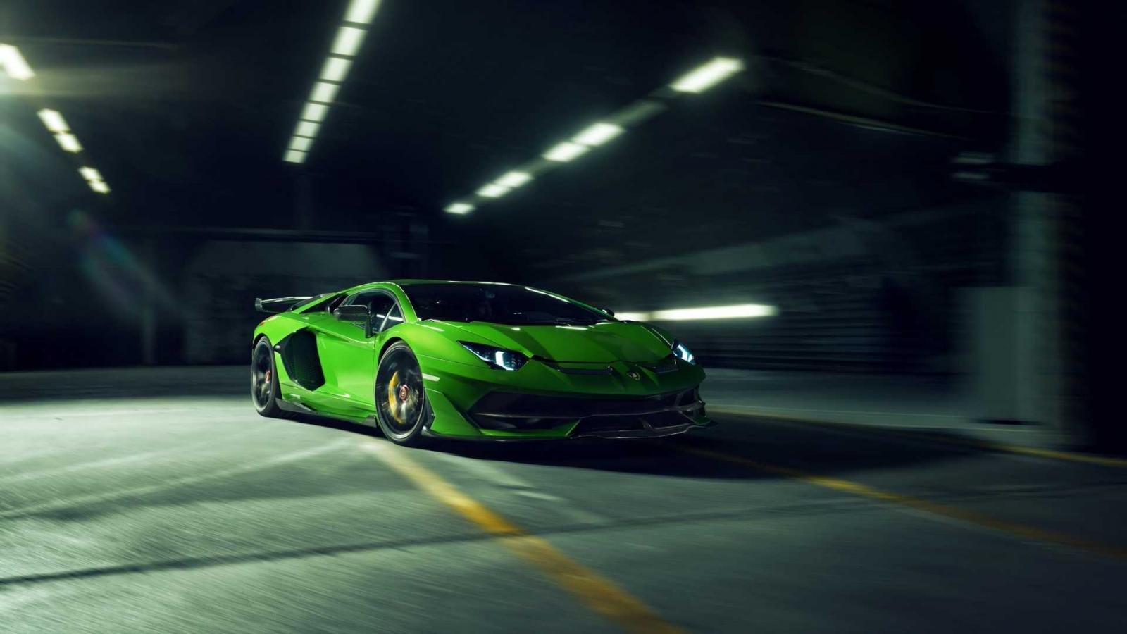 El Lamborghini Aventador SVJ de Novitec es más ligero que el modelo convencional de fabricante italiano