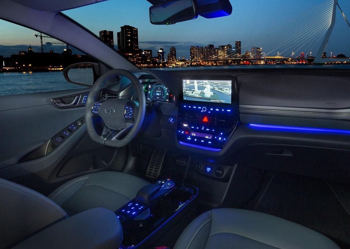 Hyundai Ioniq 2020 estados unidos interior