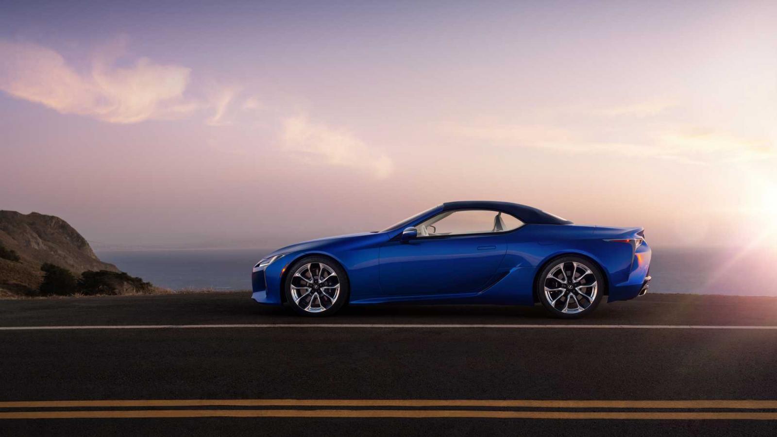 El Lexus LC 500 Convertible debutará en el mercado hasta mediados del 2020