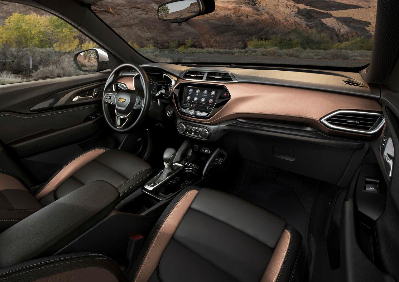 La Chevrolet Trailblazer 2021 la conocimos en Shanghái tendrá calidad en su interior
