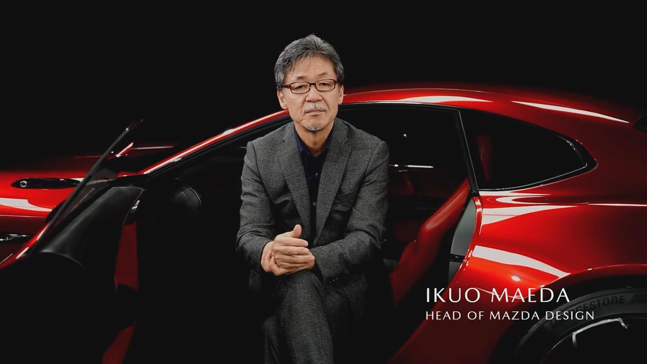 Ikuo Maeda, jefe de Diseño de Mazda, se encargó del aspecto del Mazda RX-Vision GT3 Concept