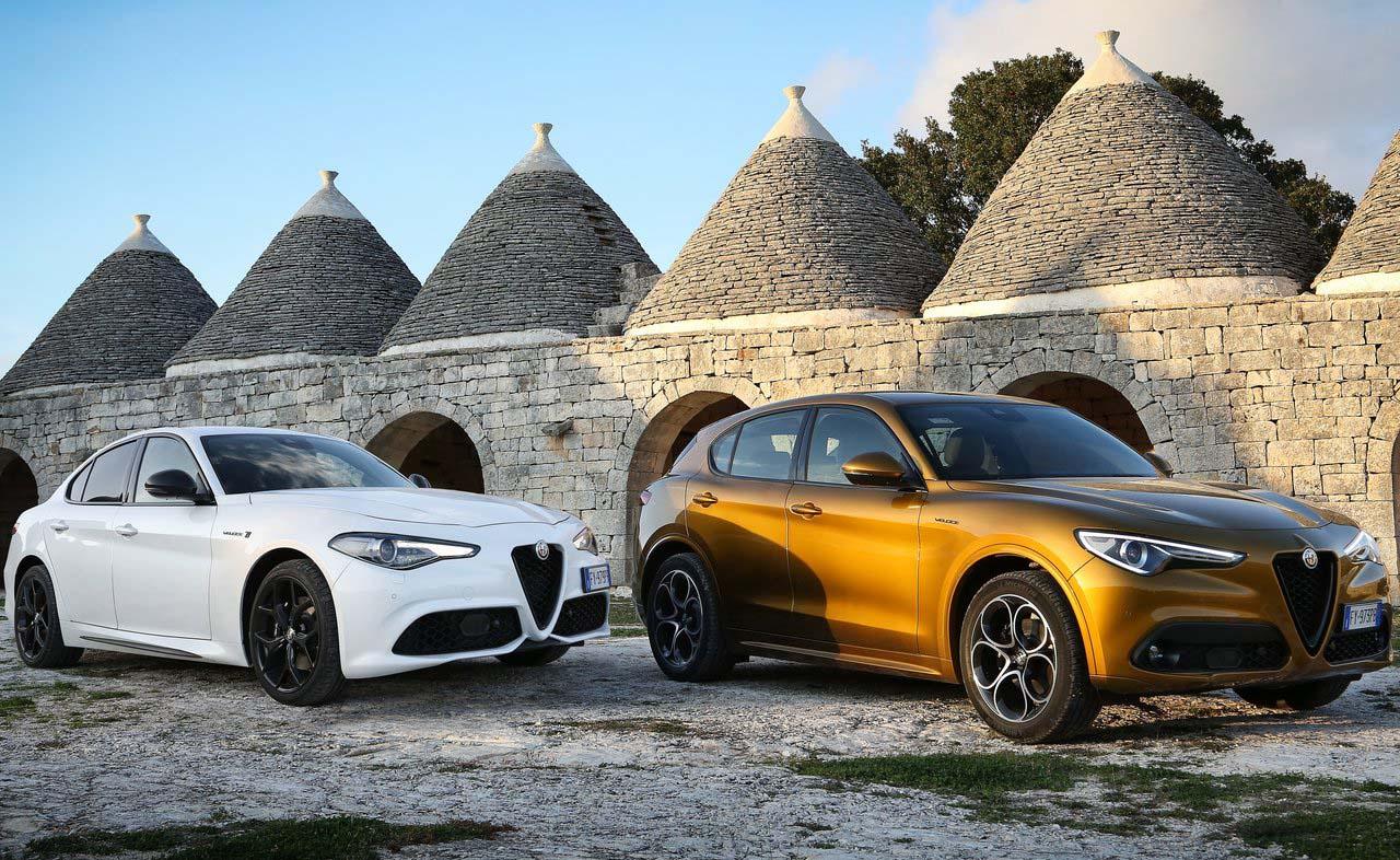 Alfa Romeo presentó a la Stelvio y el Giulia 2020