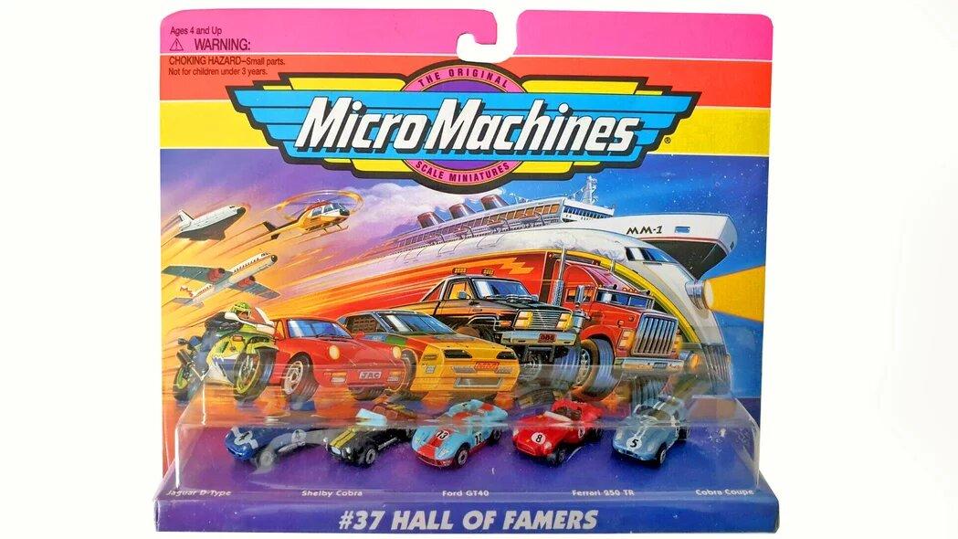 Los Micro Machine se hicieron famosos en los 90