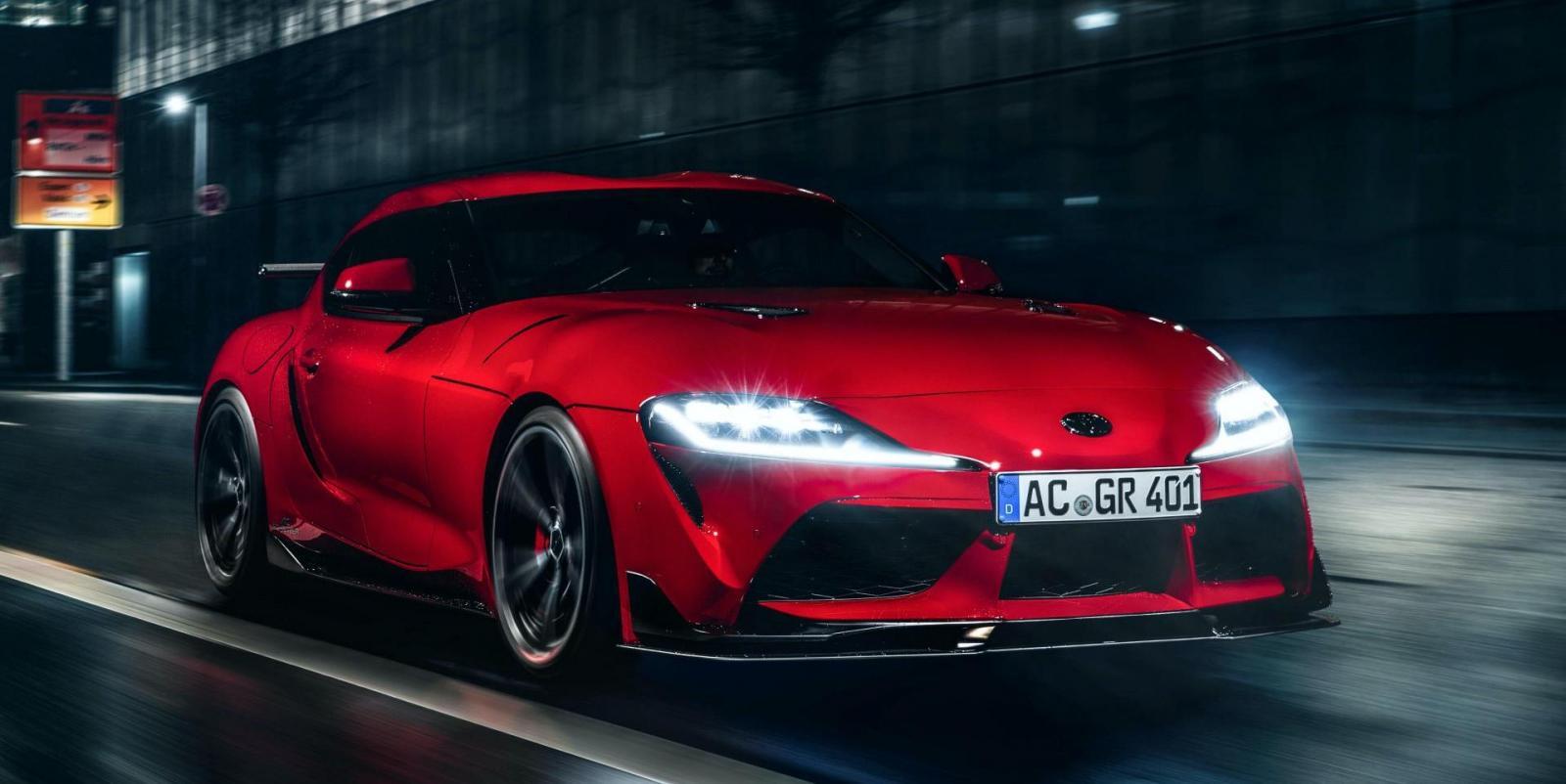 El preparador alemán modificó la estética y mecánica del Toyota GR Supra