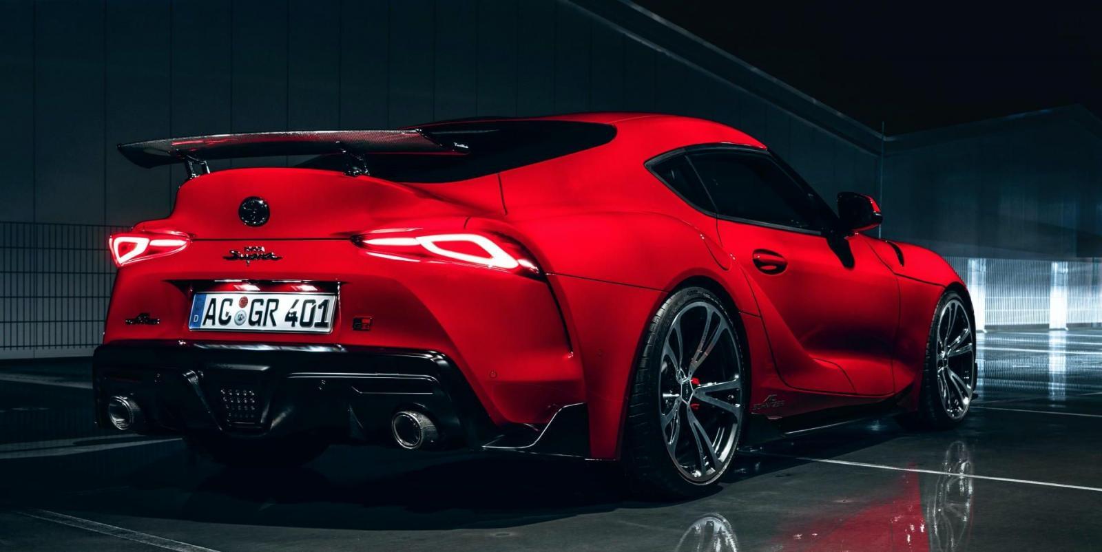 El Toyota GR Supra de AC Schnitzer entrega hasta 394 caballos de fuerza debido a las modificaciones en el motor