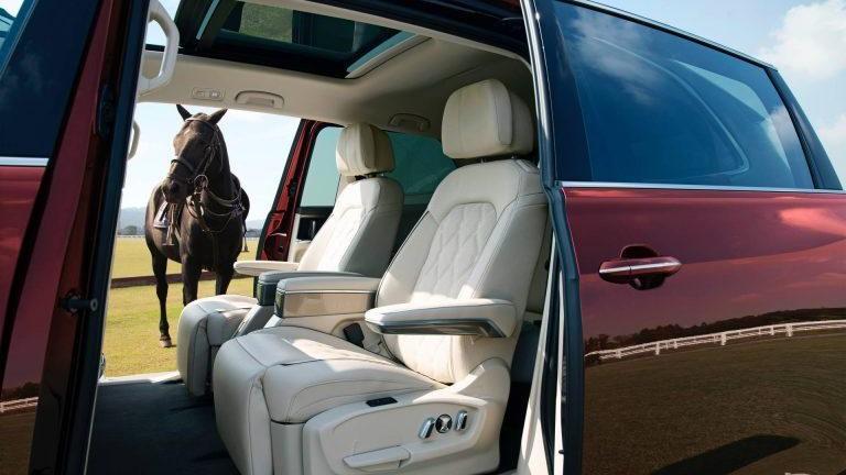 La cabina de la Volkswagen Viloran promete gran confort