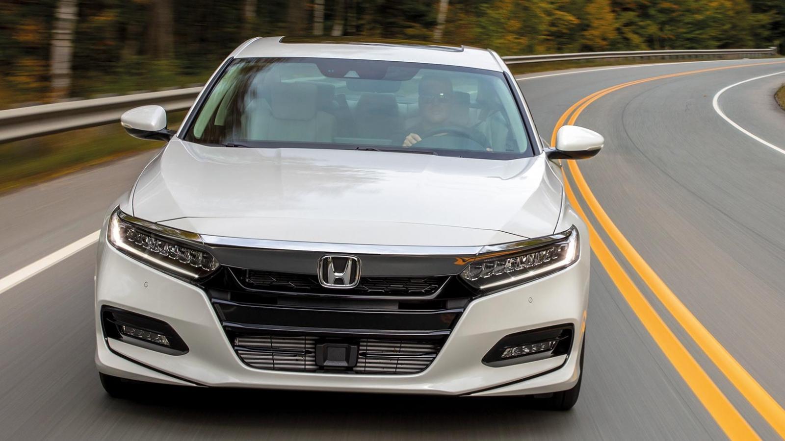 El Honda Accord Touring 2020 presume un diseño elegante y dinámico