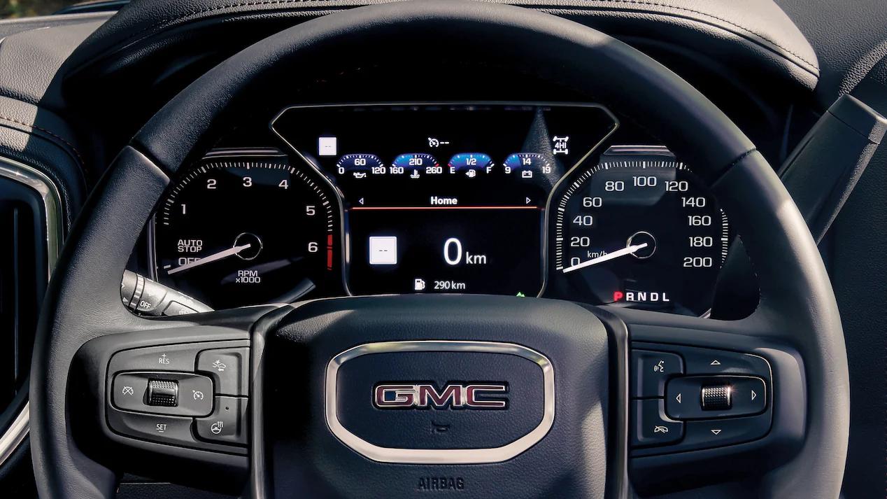 La GMC Sierra AT4 2020 lleva un motor V8 de 5.3 litros