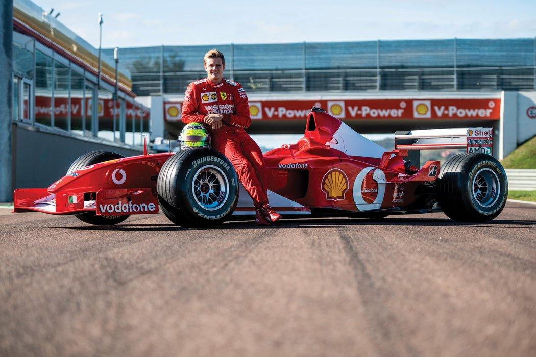 Mike Schumaches Ferrari F2002