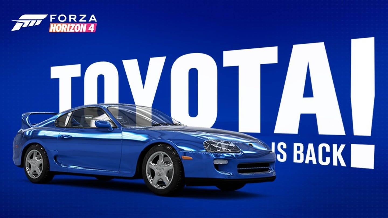 Toyota Forza Horizon 4