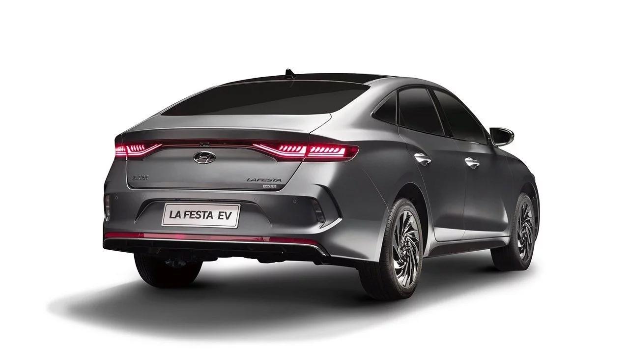 El Hyundai Lafesta EV posee un aspecto vanguardista