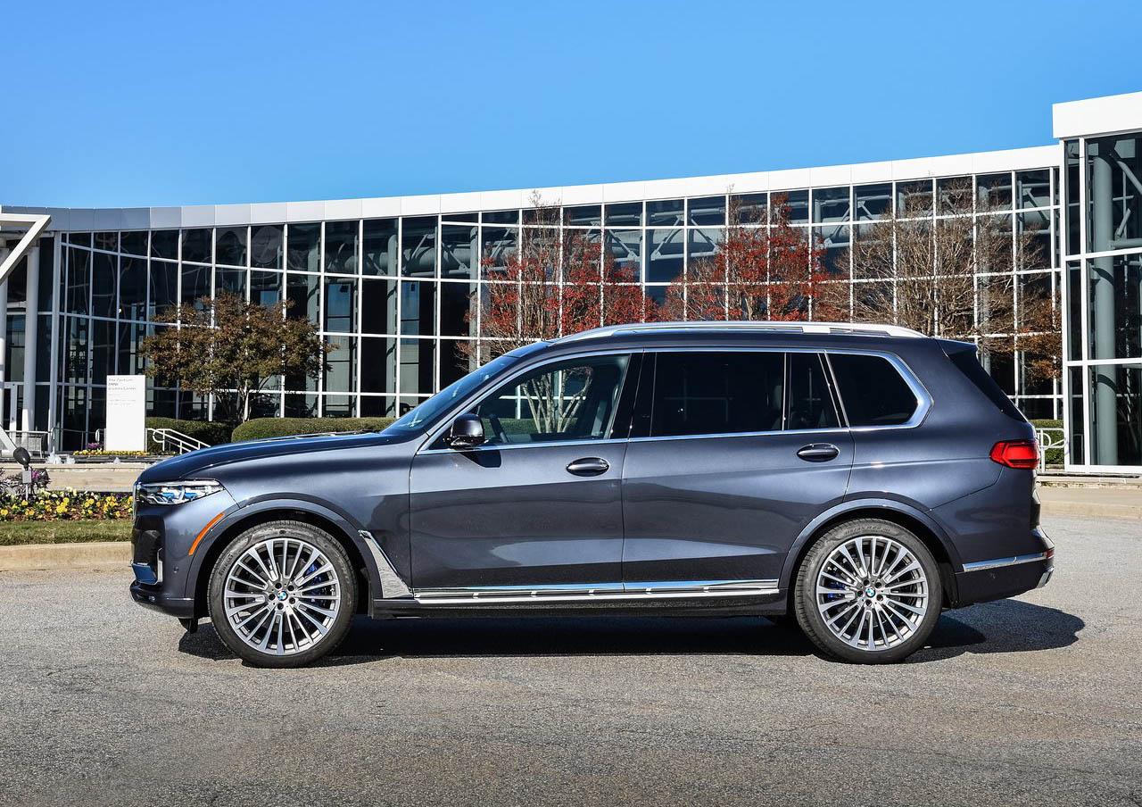 La BMW X7 xDrive40iA Pure Excellence 2020 puede venir con cristales entintados