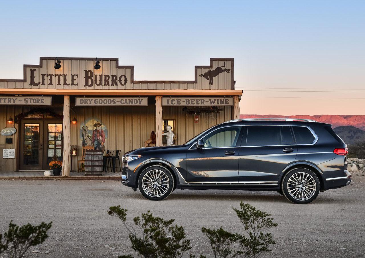 La BMW X7 xDrive40iA Pure Excellence 2020 puede ir a cualquier lugar