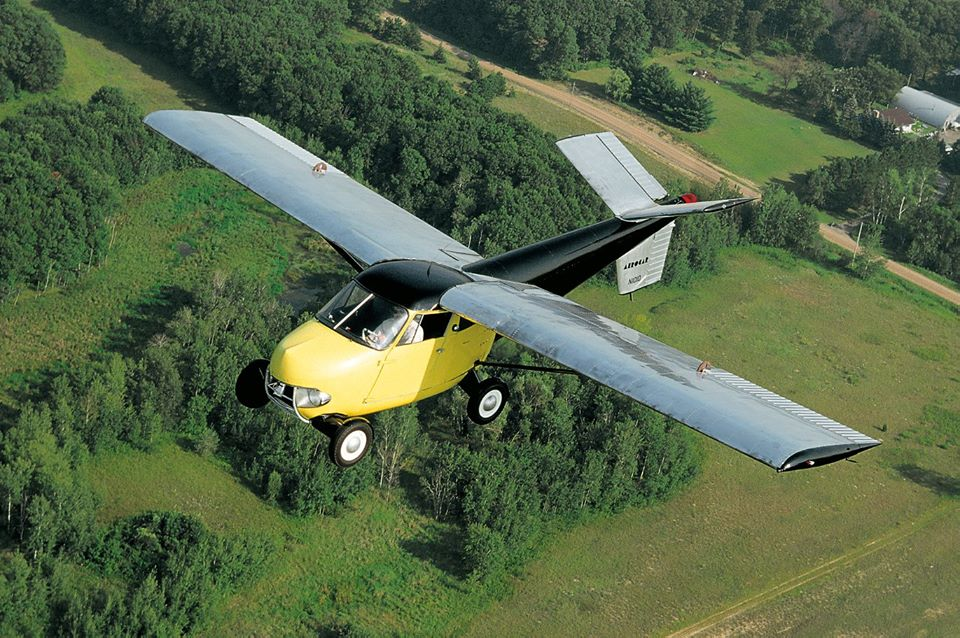 Video: Taylor Aerocar, el primer auto volador, será subastado