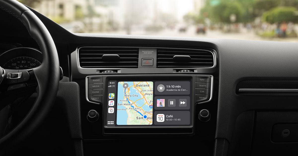 Apple CarPlay permite una óptima integración entre el iPhone y el vehículo compatible