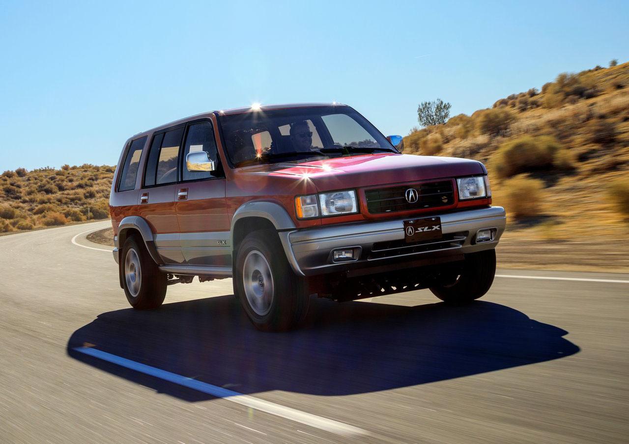 Acura revivió una SUV de 1997 y le montó lo más reciente de su tecnología