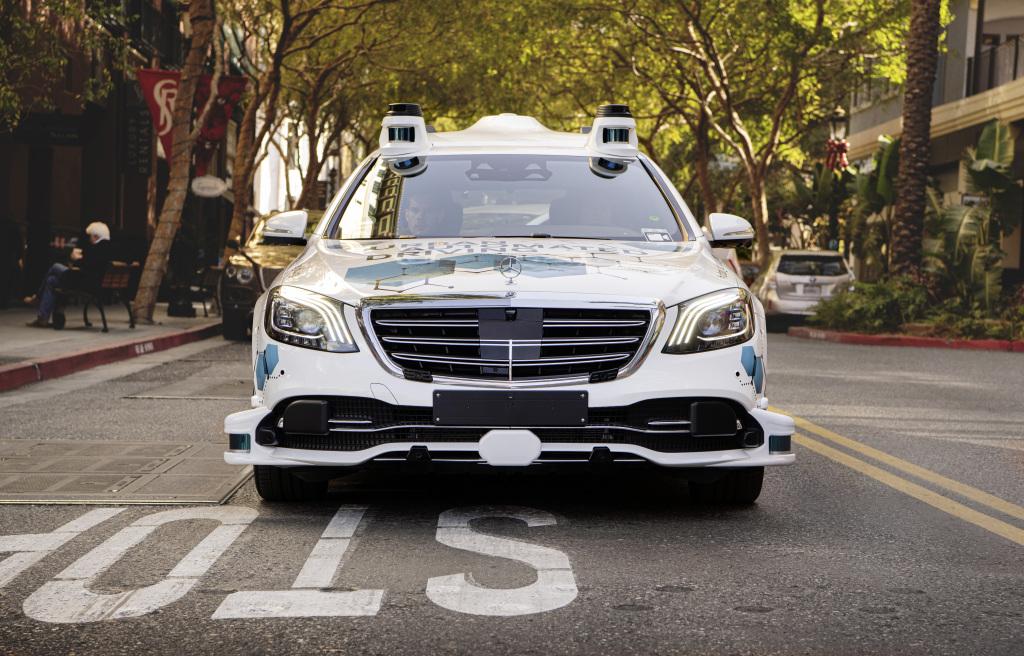 Mercedes-Benz Clase S autónomo