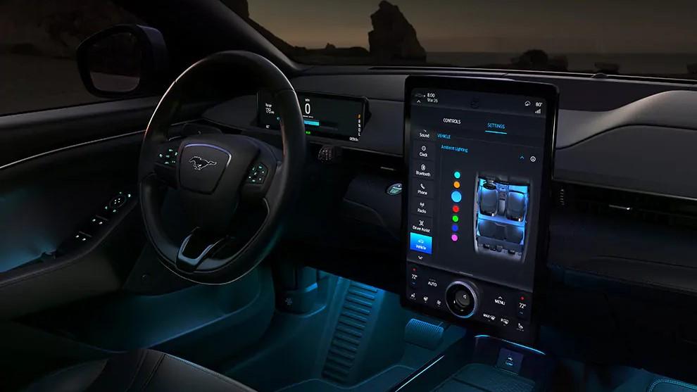 El sistema de iluminación prevé influir en el subconsciente de los conductores y pasajeros