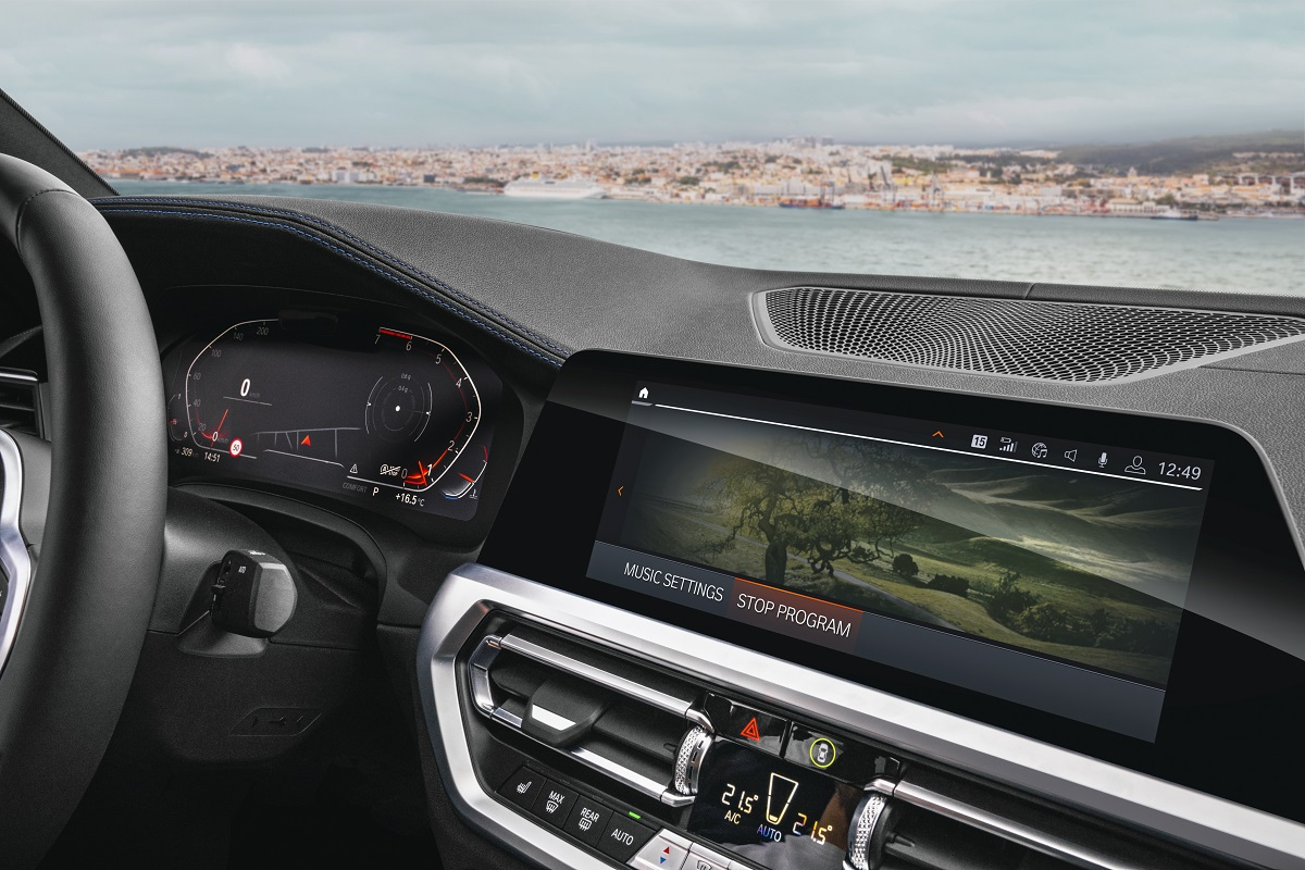 BMW sistema connected drive