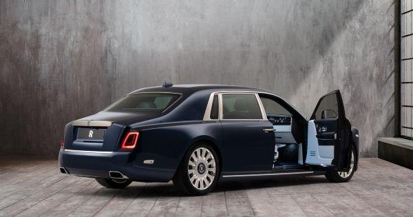 El Rolls-Royce Phantom Rose es un elegante jardín sobre ruedas