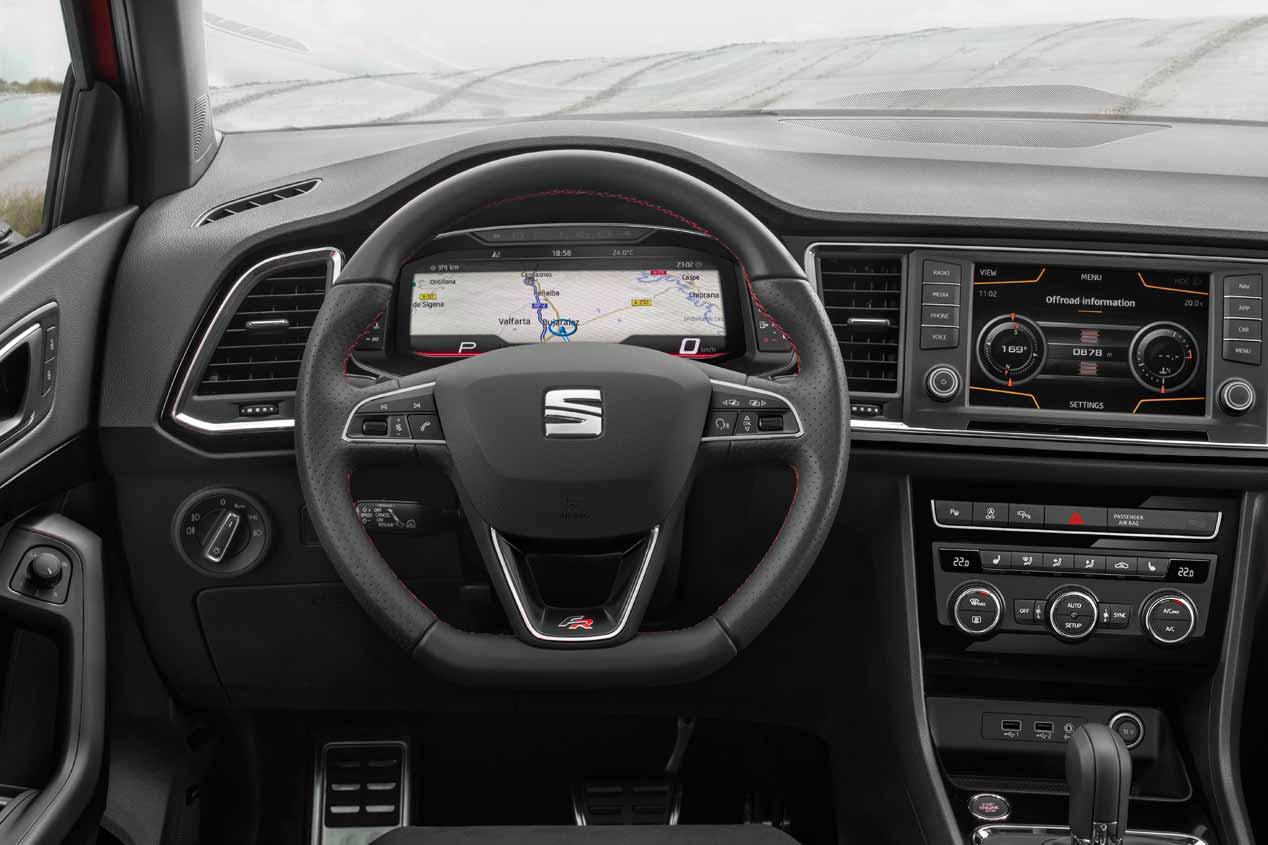 El SEAT León Cupra 2020 resena opiniones tiene cuadro de instrumentos digital