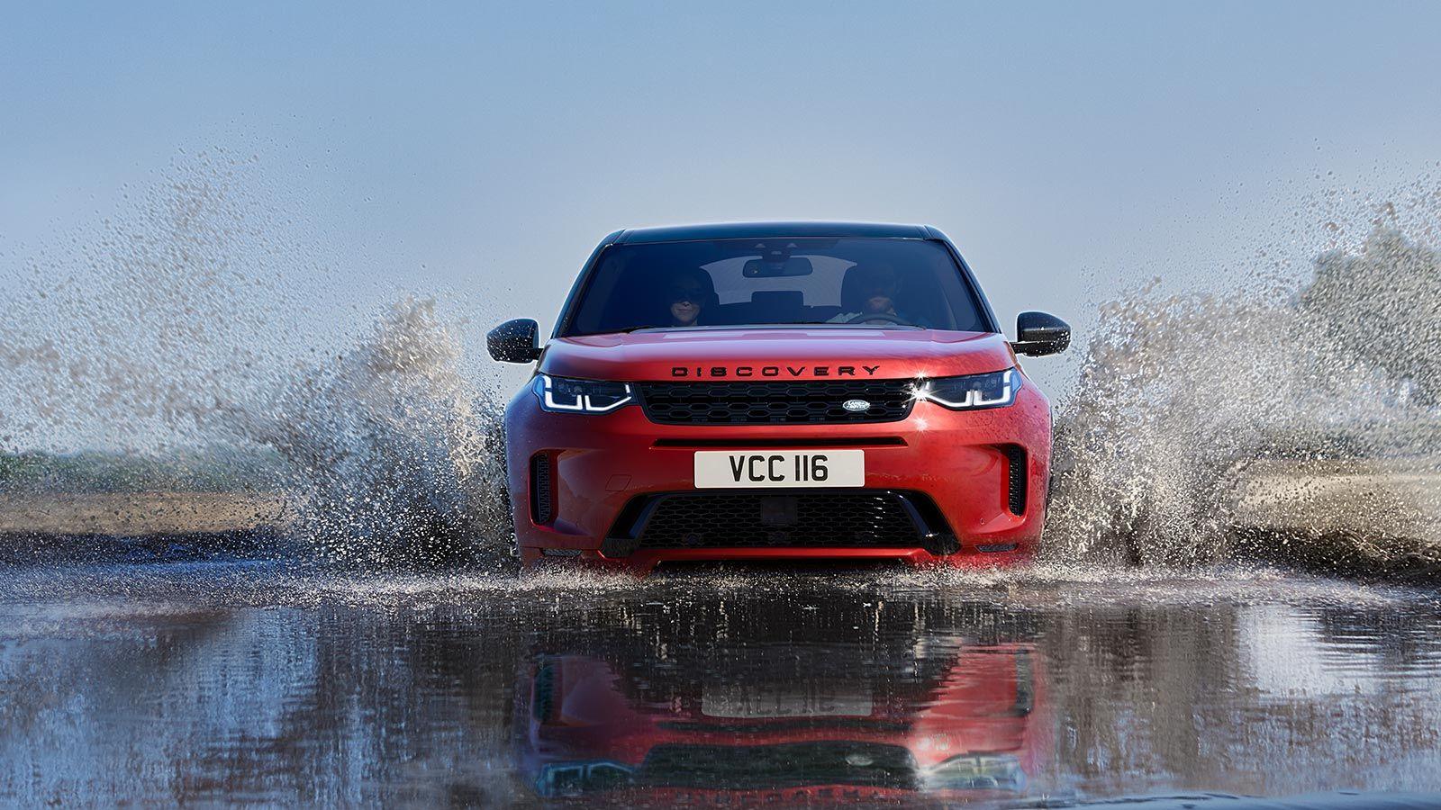 La mecánica mild-hybrid Land Rover Discovery Sport 2020 precio en México está presente en toda la gama