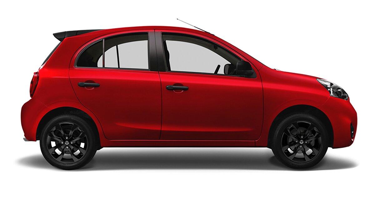 Nissan March Exclusive 2020 Tiene una estética más dinámica y agresiva