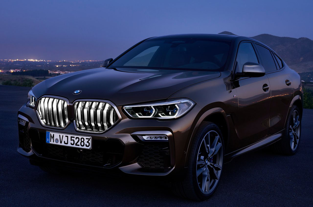 La BMW X6 2020 precio en México tiene detalles especiales en la iluminación