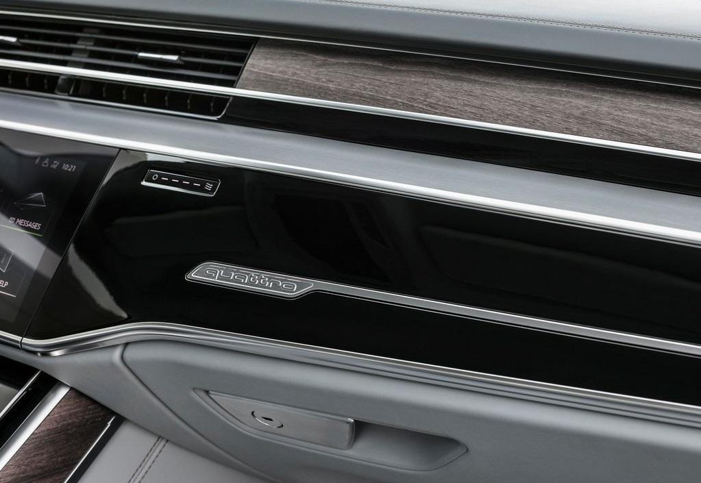 Audi A8 2018 aluminio