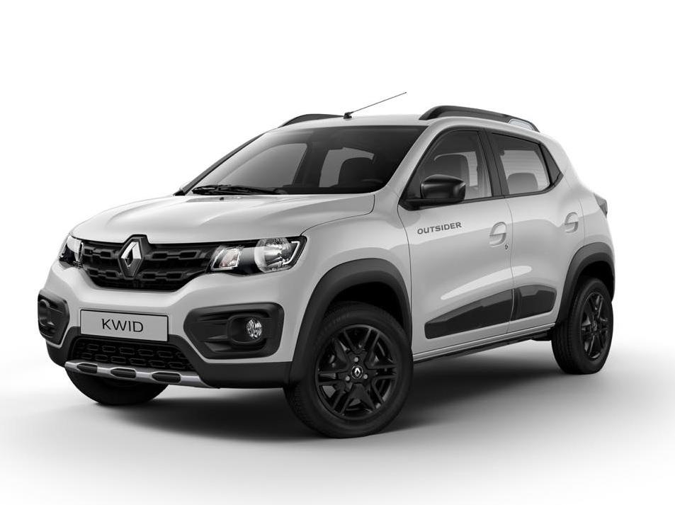 Renault Kwid Outsider 2019 FIAT Mobi Way 2019 comparativa