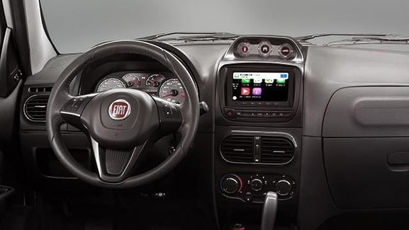 FIAT Palio Adventure Dualogic 2020 Cuenta con una pantalla táctil de 6.7 pulgadas