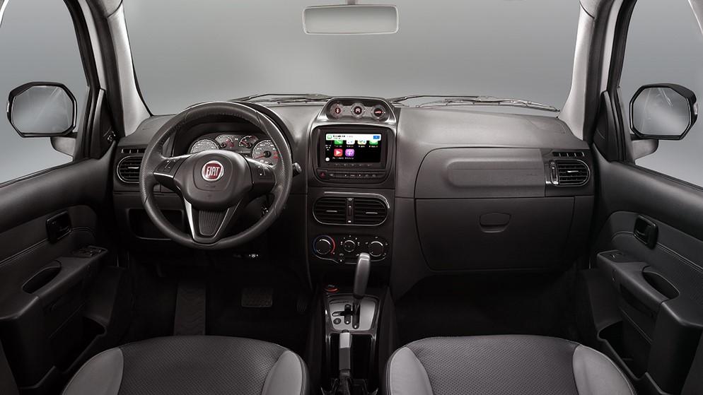La cabina es sencilla, pero funcional FIAT Palio Adventure Dualogic 2020