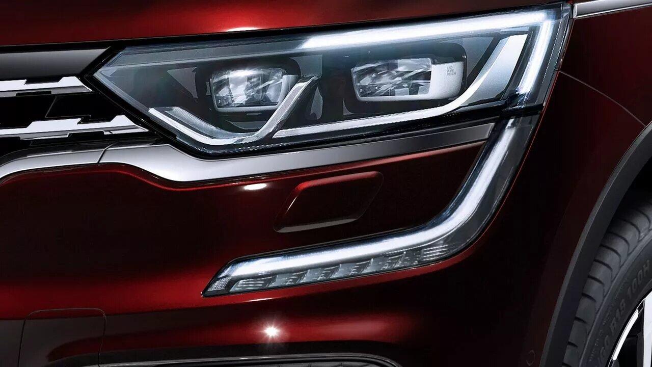 Renault Koleos Iconic 2020 resena opiniones Lleva faros principales con luz LED