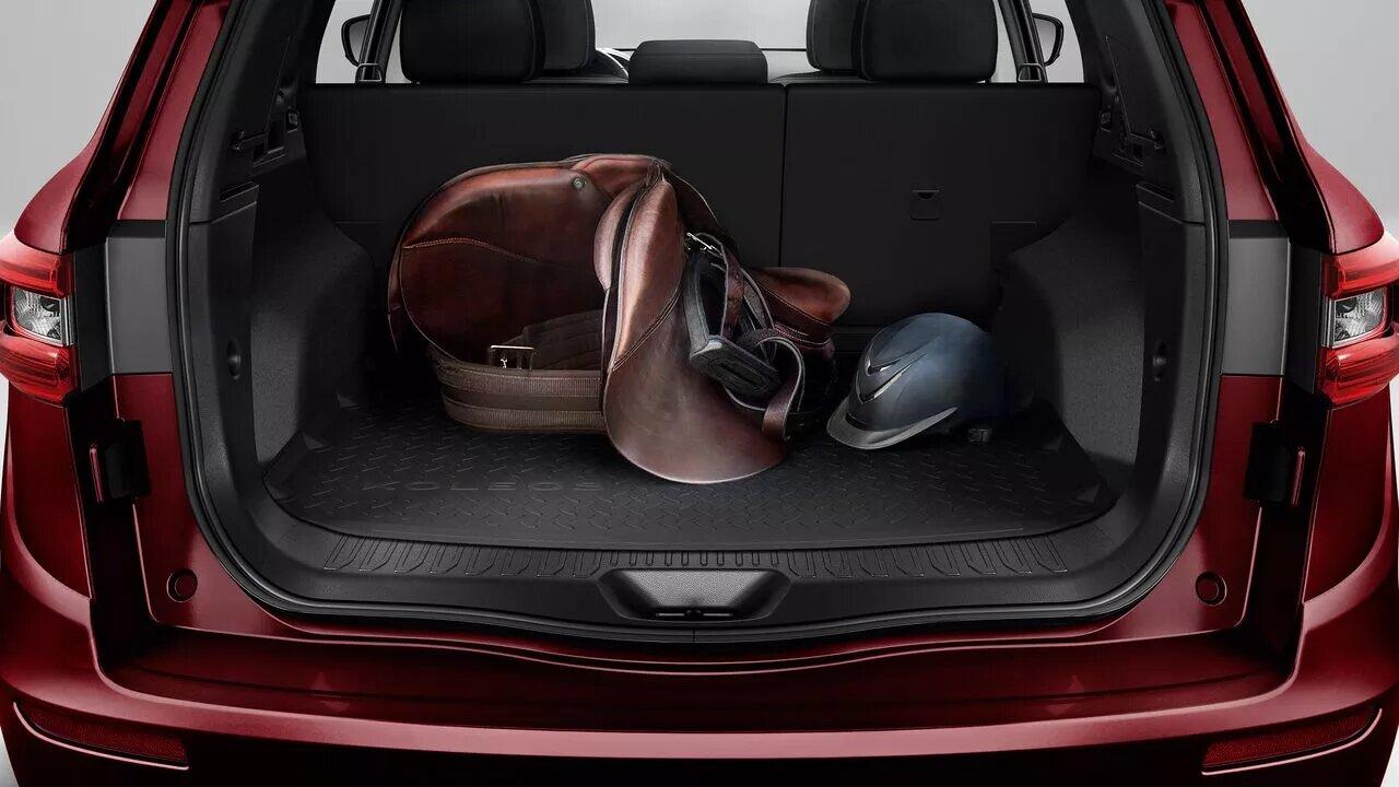 Renault Koleos Iconic 2020 resena opiniones No habrá problema en cargar con el equipaje de las familias pequeñas
