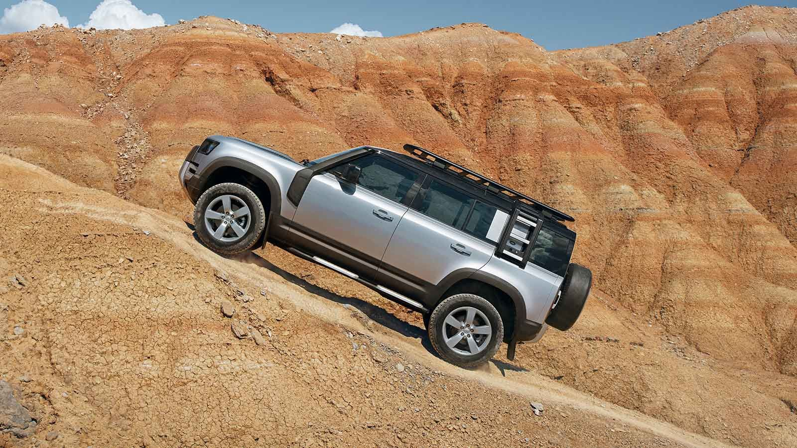 Los puristas de Land Rover Defender 2020 precio en México esperaban un aspecto más resistente