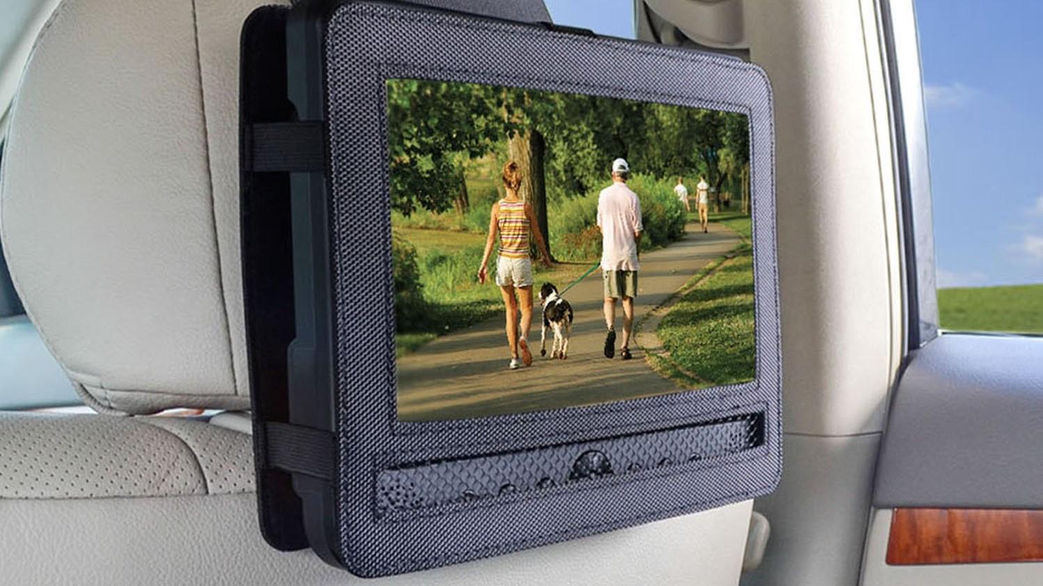 Un DVD portátil hará más amenos los viajes en carretera